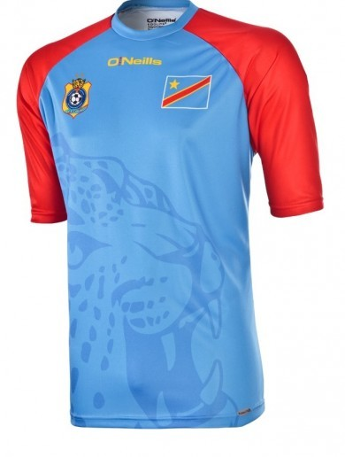 DR Congo will be wearing O'Neills jerseys at the African Cup of Nations