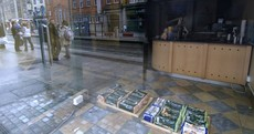 An empty set: Ghost Shops photographed