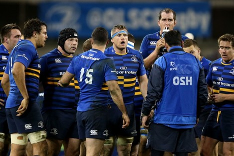 Jamie Heaslip and co. say they aren't focusing on a bonus point.