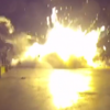 Video shows moment SpaceX rocket crashed down on ocean barge