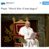 Don't panic, World War III hasn't actually started