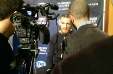 'I feel like I'm in Dublin': Behind the ropes at the UFC Boston media day