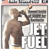 Santonio Holmes chugged Cristal from the bottle to celebrate his $50million Jets contract