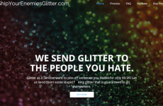 Man who founded 'glitter to your enemies' company is selling it in desperation
