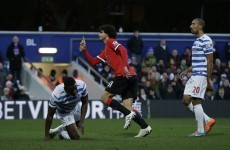 As it happened: QPR v Man United, Premier League