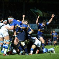 Leinster turn on the style with seven-try show as Castres collapse