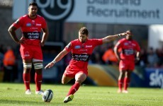 Toulon broke the 60-point barrier against Ulster with a devastating eight-try display