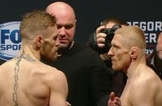 'That's championship weight. Tell Jose I'm coming'... The Irish have weighed in for UFC Boston