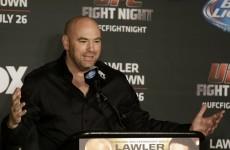 Potential McGregor v Aldo fight will be in Vegas, says Dana White