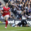 Chamakh, Squillaci & Djourou: the last Arsenal team to beat City in Manchester