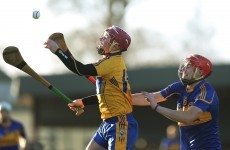 Clare just edge Tipperary in Waterford Crystal Cup quarter-final clash