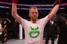 A dominant Paddy Holohan has picked up Ireland's first victory at UFC Boston