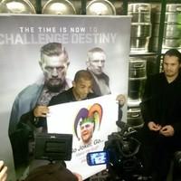 'Go joker, go... Make me laugh' - Champion Aldo's message for McGregor
