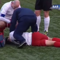 A referee broke a player's nose in The Netherlands over the weekend