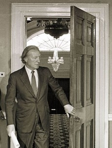 Life experience: I lived as a house-sitter in Charlie Haughey's mansion ... it was pretty tacky