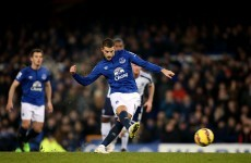 Lescott gave former club helping hand but Mirallas spurned opportunity from the spot