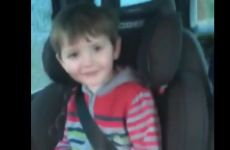 Adorable Irish toddler has succinct explanation as to what the slurry tank was spreading