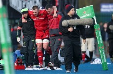 Murray, Stander, Zebo, Bleyendaal: Munster's medical staff have a LOT of 'assessments' to do this week