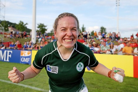 Niamh Briggs is part of an Ireland squad that includes 12 new faces.