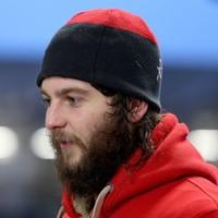Baby-faced Iain Henderson now has a great big bushy beard!