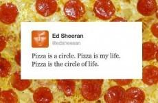 Pizza Hut Ireland had an epic Twitter sing-off with an Ed Sheeran fan