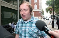 Comedian 'Marbles' convicted over Murdoch pie attack