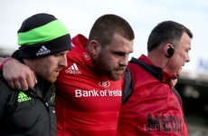 CJ Stander ruled out for up to six weeks in latest Munster injury blow