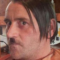 German anti-Islam leader quits after a picture of him dressed as Hitler goes viral