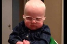 The moment this baby sees her mammy for the first time will turn you into a puddle of mush