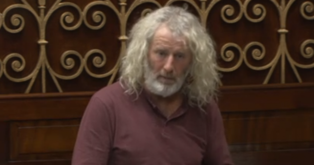 Have you seen Mick Wallace's epic beard?