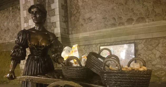Molly Malone's baskets are full of food tonight