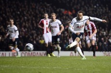 Spurs made to work but Townsend's spot-kick eventually breaks down resilient Blades