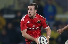 JJ Hanrahan: Leaving Munster doesn't mean goodbye for good