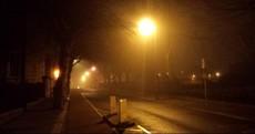 Careful, it's fierce foggy out...