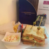 This is how much a club sandwich costs at the world's most exclusive schmoozefest