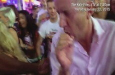 Here's the moment Jeremy Kyle got pepper sprayed in Magaluf