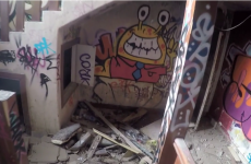Graffiti and rubble: The danger and beauty of the abandoned building