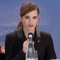 Emma Watson: 'The world is held back because women aren't equal'
