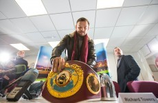 'Chocolate' fight on hold as WBO calls on Andy Lee to open defence against Saunders