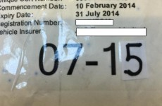 Waterford motorist makes worst attempt EVER at faking insurance disc