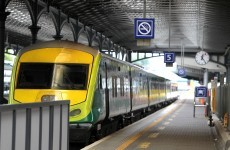 Person struck by train between Portarlington and Portlaoise