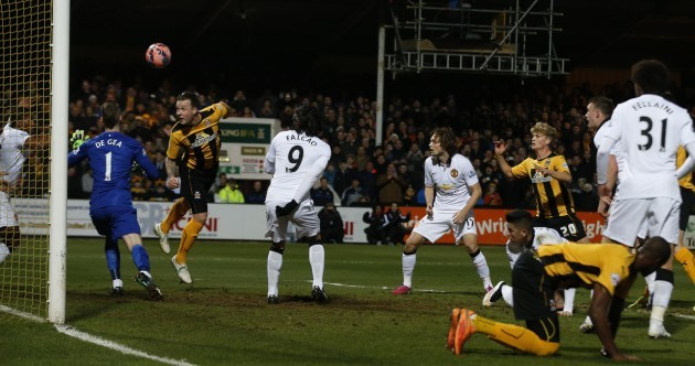 Money's men force unlikely FA Cup replay with Manchester United