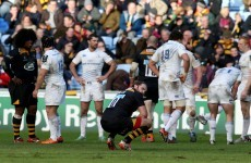 O'Connor disappointed with Leinster's inability to close out Wasps clash
