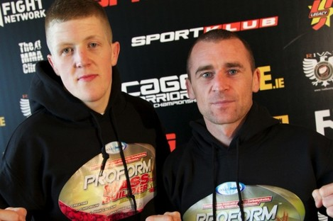 Paul Redmond and Neil Seery will be flying the Irish flag tonight at UFC Stockholm.