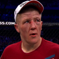 Disappointment for Paul Redmond despite a courageous display in tonight's UFC debut