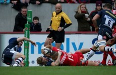 'It was one of those days when we had license to spread the ball' -- Zebo