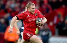 Earls shows class at 13 for Munster before 'precautionary' early exit
