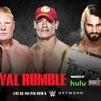 Look away now if you don't want to know who won last night's Royal Rumble