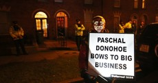 "Protest outside Minister's home ""a matter for the Gardaí"""