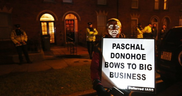 """Protest outside Minister's home """"a matter for the Gardaí"""""""